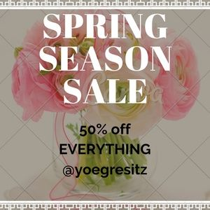 Other - SPRING SALE 50% OFF